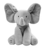 Flappy the elephant - the best peek a boo plush