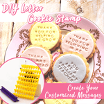 DIY Letter Cookie Stamp