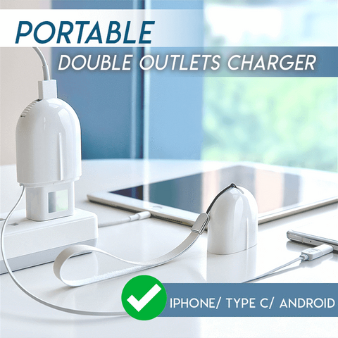 Magic Portable Double Outlet Charger