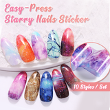 Mighty Press Starry Nails Stickers