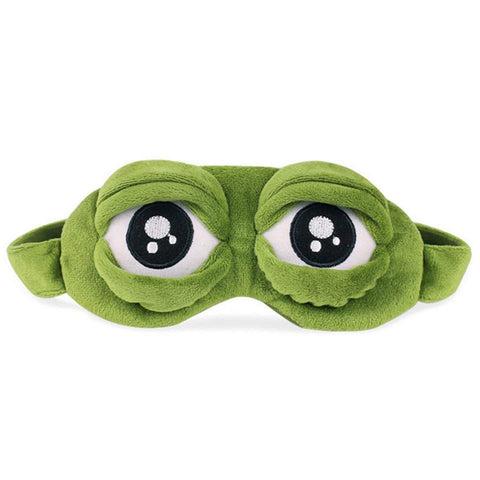 Frog Eyes Sleep Mask