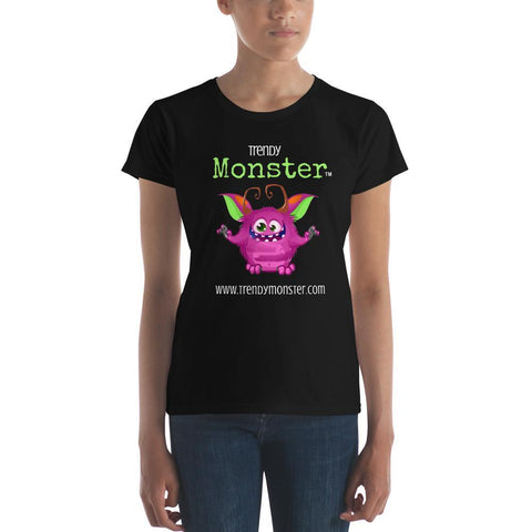 TrendyMonster ™ Black T-shirt Ladies