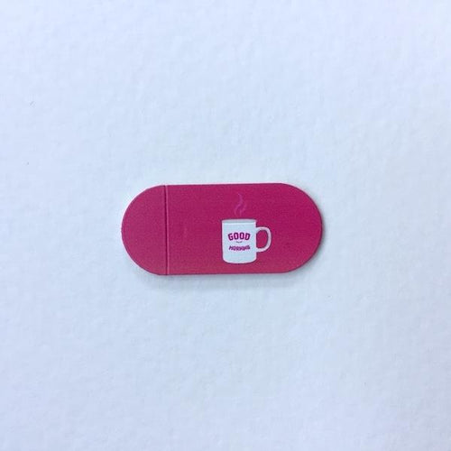 Kamera cover pink good morning funsy at hippist for digital privacy