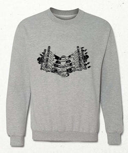 Sweatshirt | Piston V8 | Gri