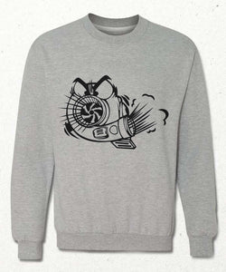Sweatshirt | Çılgın Turbo | Gri