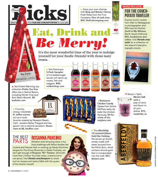 Not Ketchup In Parade Magazine