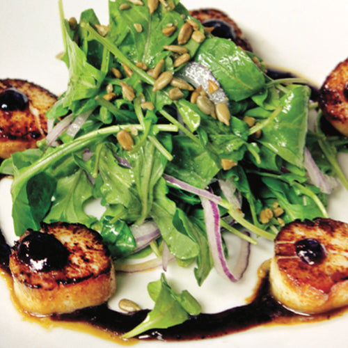 BLUEBERRY SEARED SCALLOPS