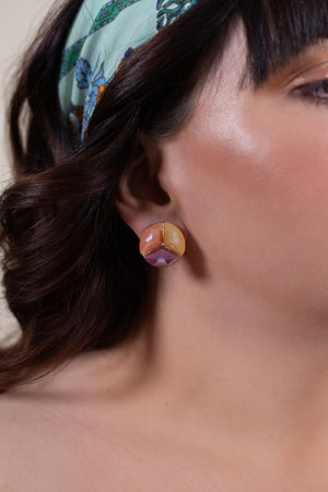 Giant Mixed Colors Earring - Gypsie Souls