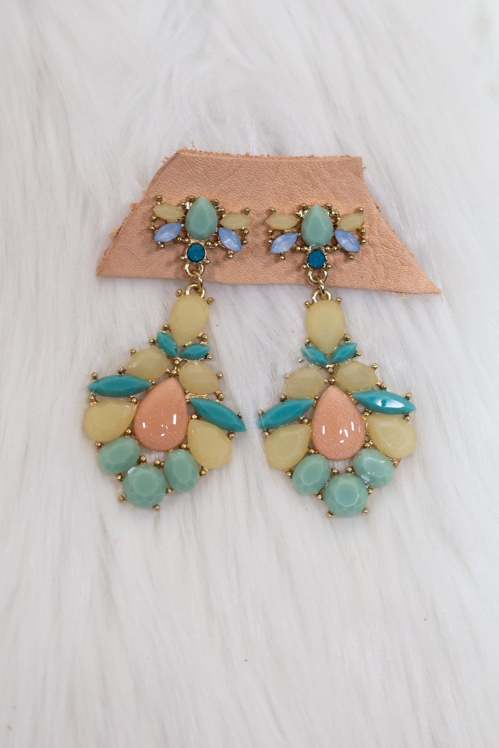 Mixed Pastel Color Earrings - Gypsie Souls