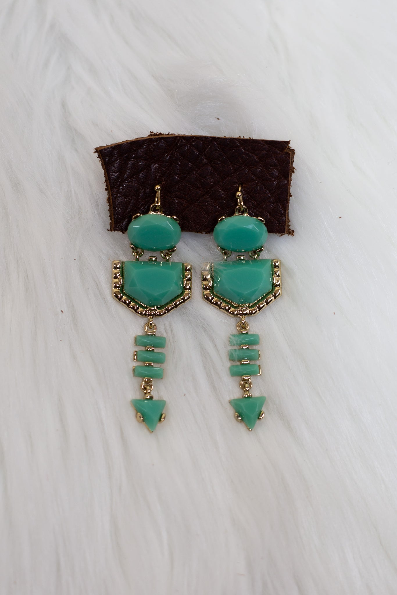 Turquoise Blue Earrings - Gypsie Souls