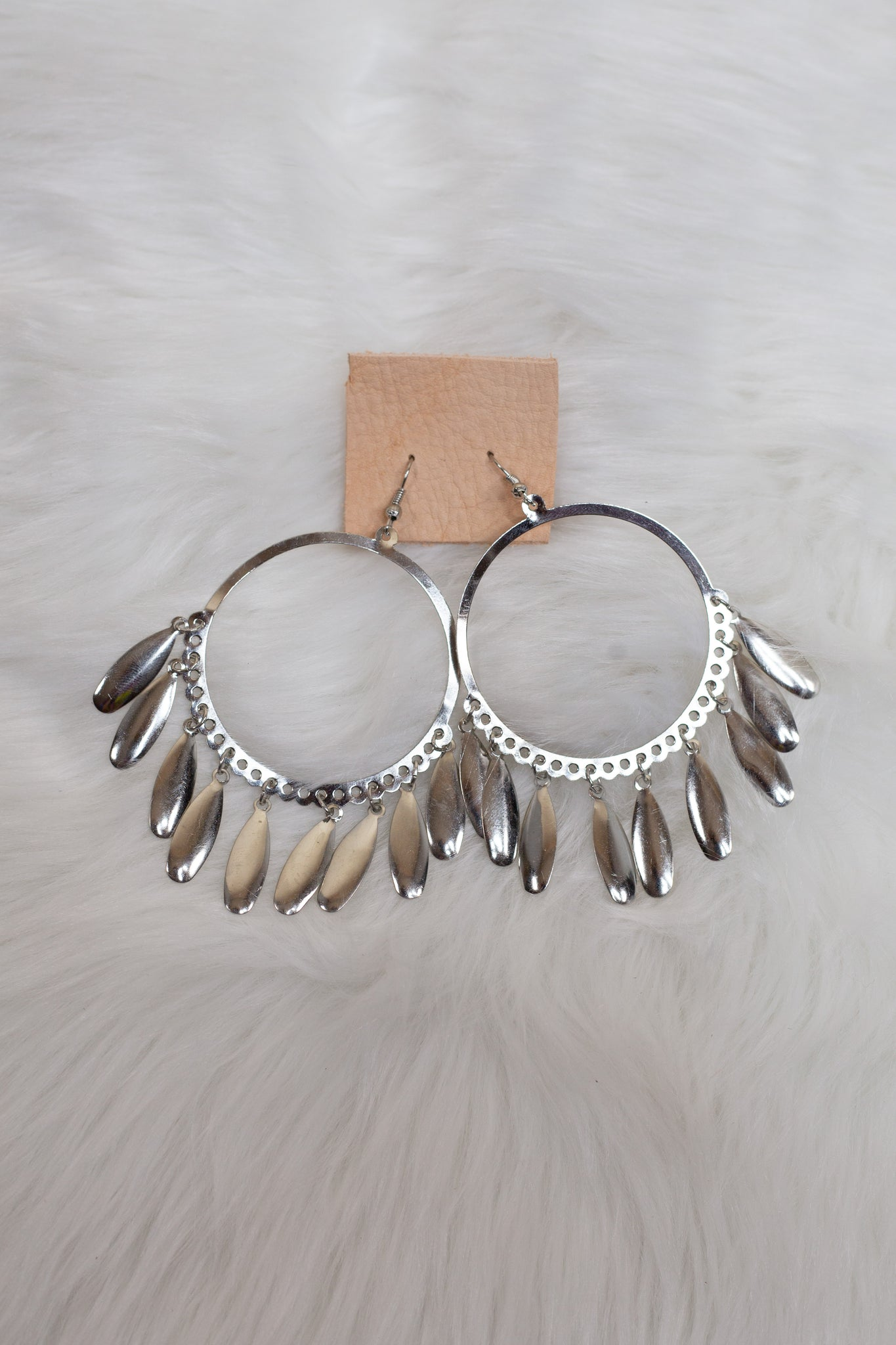 Silver Hoop Dangle - Gypsie Souls