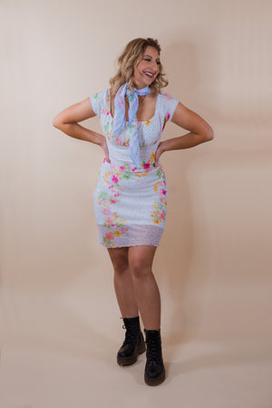 Vintage 90's Jody California Off the Shoulder Dress - Gypsie Souls