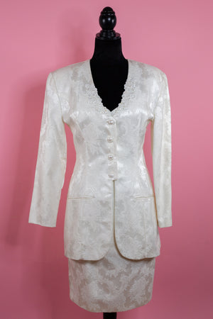 Vintage Jessica McClintock Bridal Dress w/ Jacket - Gypsie Souls