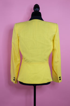 Vintage KASPER for A.S.L Yellow Blazer - Gypsie Souls