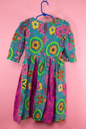 Vintage 60's Psychedelic Kids Dress - Gypsie Souls