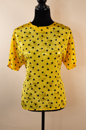 Vintage 80's Pyke Limited Yellow Top - Gypsie Souls