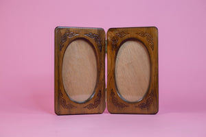 Vintage Hand Carved Wooden Picture Frame - Gypsie Souls