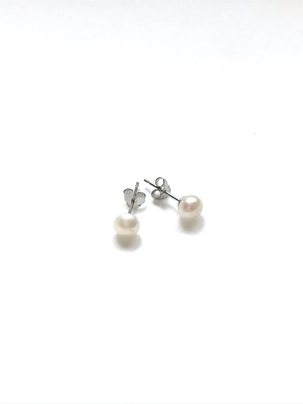 Grace Pearl Stud Earrings