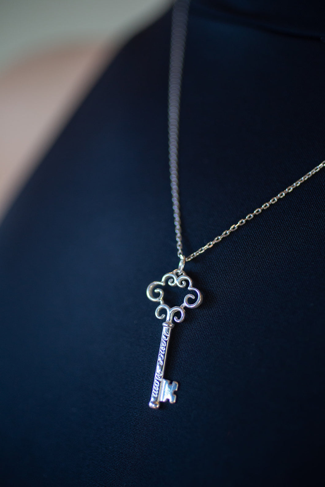 Dance Mom Key Necklace