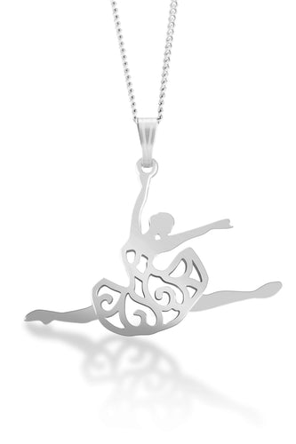 Simply Ballet Ballerina Necklace