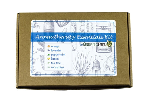 organicfair aromatherapy essentials set box