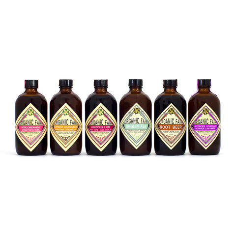 organicfair soda syrup set