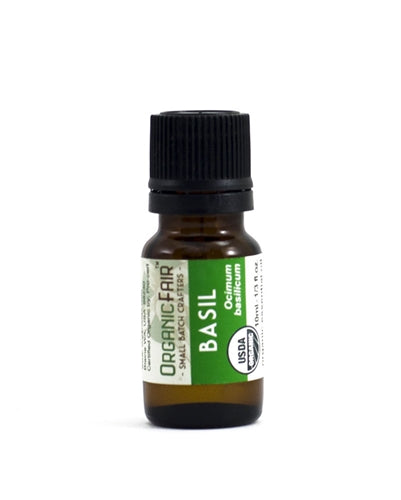 organicfair basil essential oil