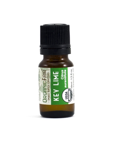 organicfair key lime essential oil