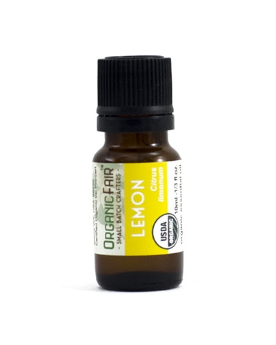 organicfair lemon essential oil