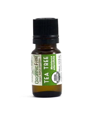 organicfair tea tree essential oil