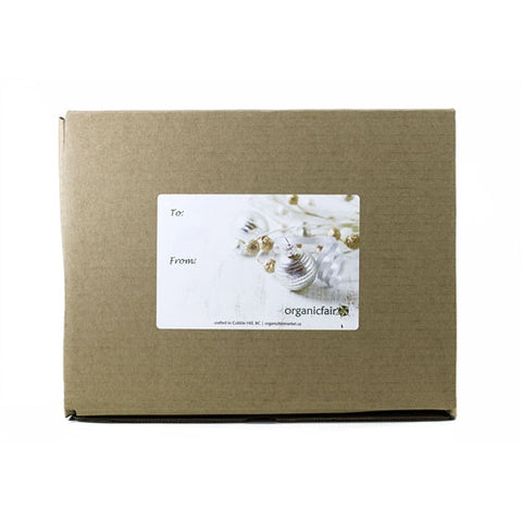 organicfair holiday gift box