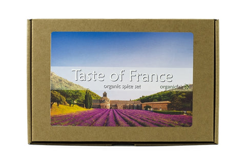 organicfair taste of france spice box