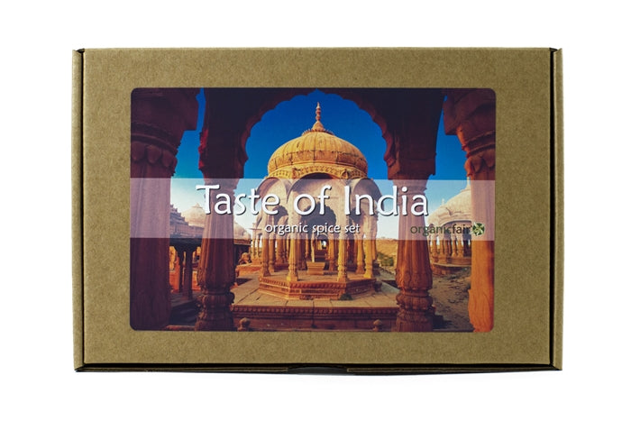 organicfair taste of india spice box