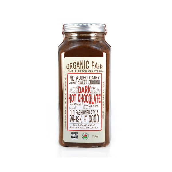 organicfair dark hot chocolate