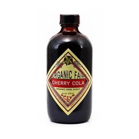 organicfair cherry cola soda syrup