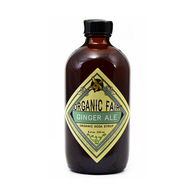 organicfair ginger ale soda syrup