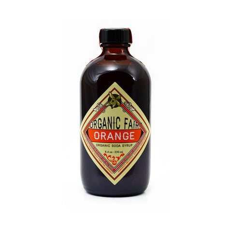 organicfair orange soda syrup