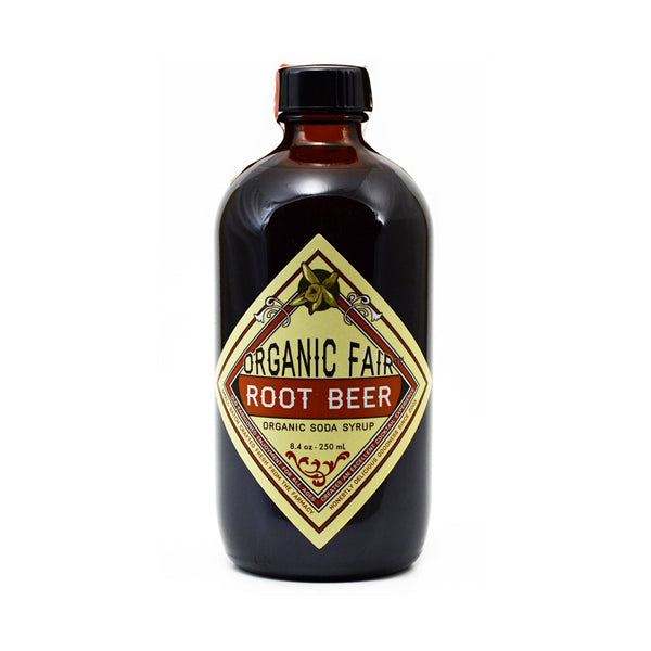 organicfair root beer soda syrup
