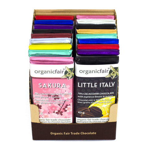 organicfair chocolate mixed case