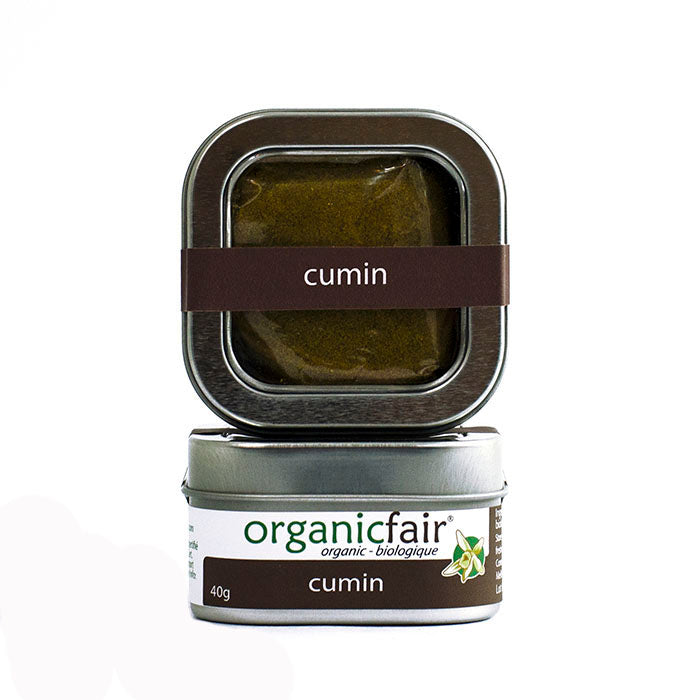 organicfair cumin powder tin