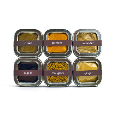 organicfair taste of india spice set