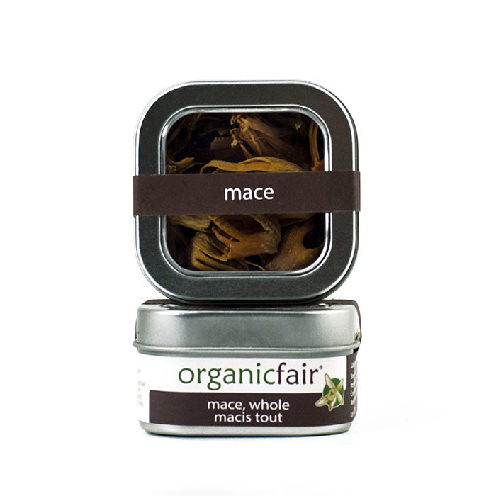 organicfair whole mace tin