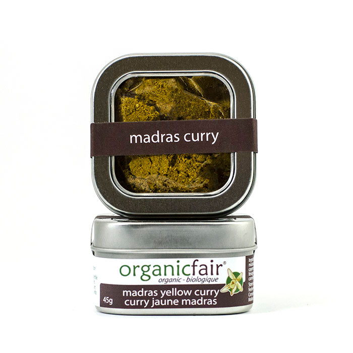 organicfair madras yellow curry spice blend