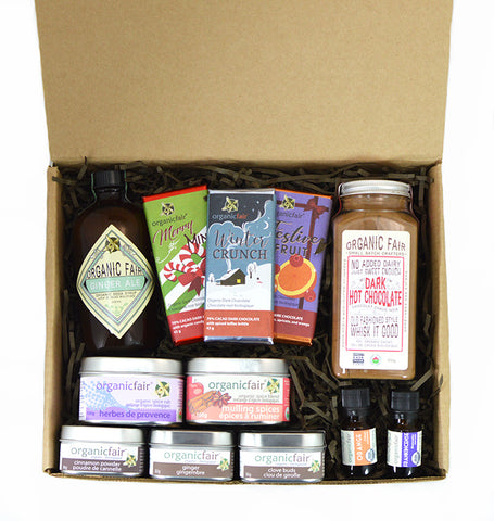 organicfair holiday gift set extra large
