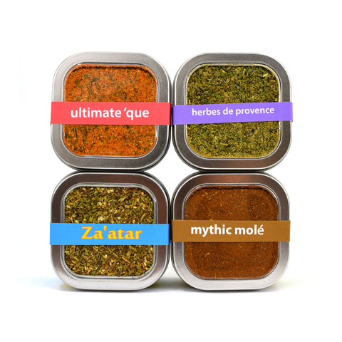organicfair spice rub sampler set