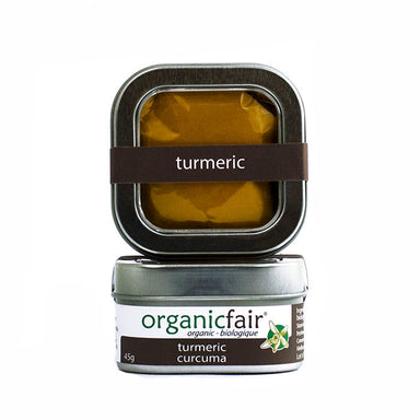 organicfair turmeric powder tin