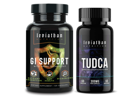 Digestion Stack (GI Support + TUDCA)