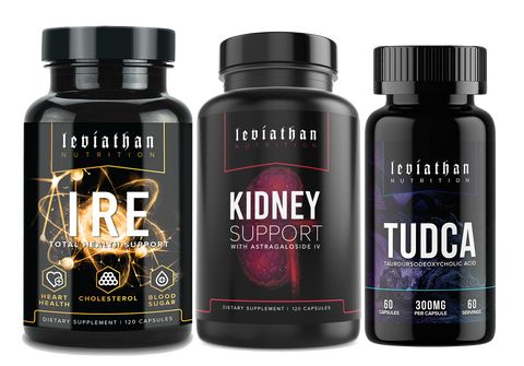 Total Organ Health Stack (IRE+KIDNEY SUPPORT+TUDCA) *FREE USA SHIPPING*
