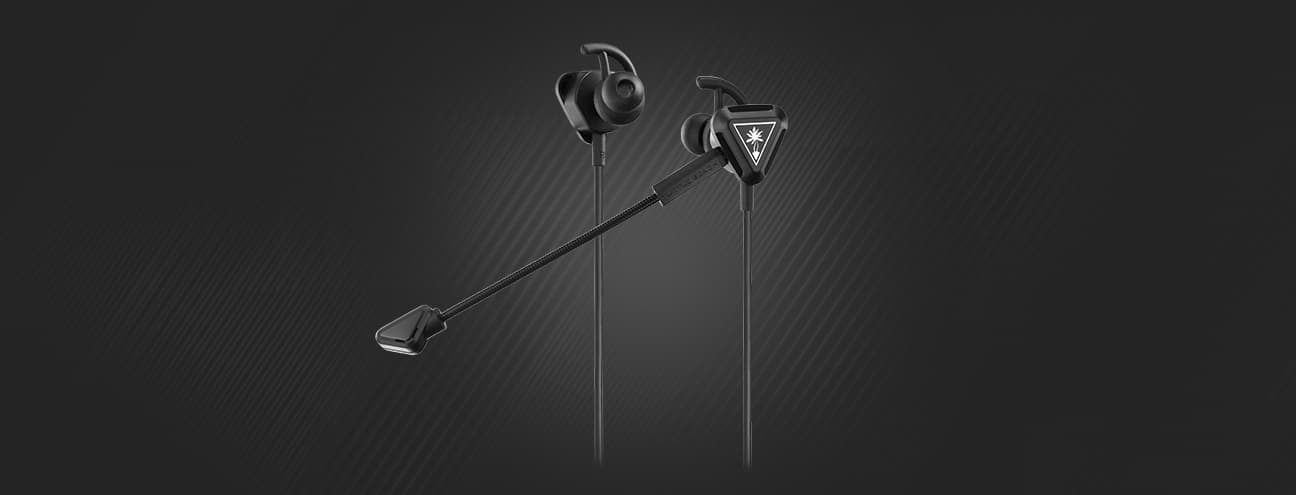 battle buds black/silver
