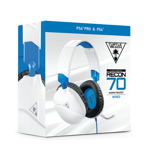 Recon 70 PS4 White Packaging